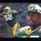 1995 Fleer Football Flair Preview #11 Reggie White - Green Bay Packers
