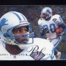 1995 Fleer Football Flair Preview #10 Barry Sanders - Detroit Lions