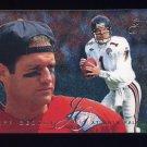 1995 Fleer Football Flair Preview #02 Jeff George - Atlanta Falcons