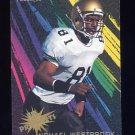 1995 Fleer Football Prospects #18 Michael Westbrook - Washington Redskins