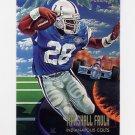 1995 Fleer Football Pro-Vision #5 Marshall Faulk - Indianapolis Colts
