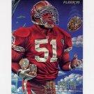 1995 Fleer Football Pro-Vision #3 Ken Norton - San Francisco 49ers