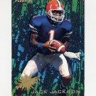 1995 Fleer Football Prospects #09 Jack Jackson - Chicago Bears