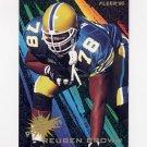 1995 Fleer Football Prospects #03 Reuben Brown - Buffalo Bills