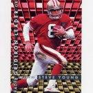 1995 Fleer Football Gridiron Leaders #10 Steve Young - San Francisco 49ers