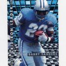 1995 Fleer Football Gridiron Leaders #05 Barry Sanders - Detroit Lions