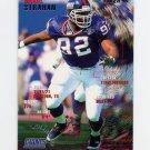 1995 Fleer Football #285 Michael Strahan - New York Giants