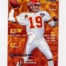 1995 Fleer Football #183 Joe Montana - Kansas City Chiefs