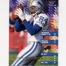 1995 Fleer Football #126 Herman Moore - Detroit Lions