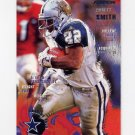 1995 Fleer Football #100 Emmitt Smith - Dallas Cowboys