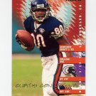 1995 Fleer Football #053 Curtis Conway - Chicago Bears