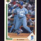 1991 Upper Deck Baseball #545 Bo Jackson - Kansas City Royals