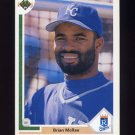 1991 Upper Deck Baseball #543 Brian McRae RC - Kansas City Royals