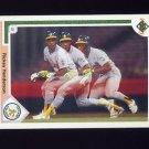 1991 Upper Deck Baseball #444 Rickey Henderson - Oakland A's