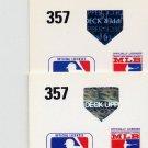 1991 Upper Deck Baseball #357 Mel Rojas - Montreal Expos Regular and Variation Holograms