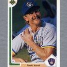 1991 Upper Deck Baseball #344 Robin Yount - Milwaukee Brewers