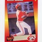 1992 Donruss Triple Play Baseball #109 Reggie Sanders - Cincinnati Reds