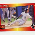 1992 Donruss Triple Play Baseball #107 Tim Raines - Chicago White Sox