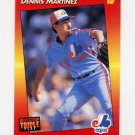 1992 Donruss Triple Play Baseball #092 Dennis Martinez - Montreal Expos
