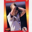 1992 Donruss Triple Play Baseball #091 Chuck Finley - California Angels