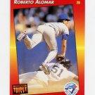 1992 Donruss Triple Play Baseball #084 Roberto Alomar - Toronto Blue Jays