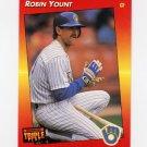 1992 Donruss Triple Play Baseball #081 Robin Yount - Milwaukee Brewers