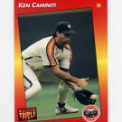 1992 Donruss Triple Play Baseball #078 Ken Caminiti - Houston Astros
