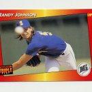 1992 Donruss Triple Play Baseball #071 Randy Johnson - Seattle Mariners