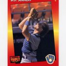 1992 Donruss Triple Play Baseball #056 B.J. Surhoff - Milwaukee Brewers