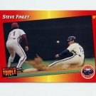 1992 Donruss Triple Play Baseball #043 Steve Finley - Houston Astros