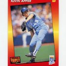 1992 Donruss Triple Play Baseball #008 Kevin Appier - Kansas City Royals