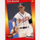 1992 Donruss Triple Play Baseball #007 Tom Glavine - Atlanta Braves
