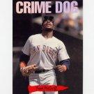1993 Donruss Triple Play Baseball Nicknames #10 Fred McGriff - San Diego Padres