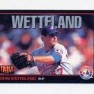 1993 Donruss Triple Play Baseball #206 John Wetteland - Montreal Expos