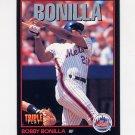 1993 Donruss Triple Play Baseball #173 Bobby Bonilla - New York Mets