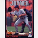 1993 Donruss Triple Play Baseball #153 Wally Joyner - Kansas City Royals