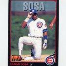 1993 Donruss Triple Play Baseball #151 Sammy Sosa - Chicago Cubs