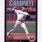 1993 Donruss Triple Play Baseball #149 Ken Caminiti - Houston Astros