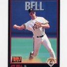 1993 Donruss Triple Play Baseball #140 Jay Bell - Pittsburgh Pirates
