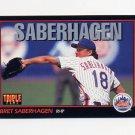 1993 Donruss Triple Play Baseball #124 Bret Saberhagen - New York Mets