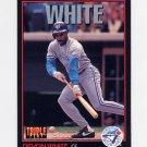 1993 Donruss Triple Play Baseball #089 Devon White - Toronto Blue Jays