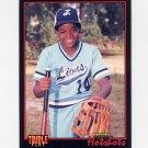 1993 Donruss Triple Play Baseball #077 Frank Thomas LH - Chicago White Sox