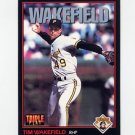 1993 Donruss Triple Play Baseball #050 Tim Wakefield - Pittsburgh Pirates