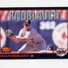 1993 Donruss Triple Play Baseball #048 Chuck Knoblauch - Minnesota Twins