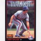 1993 Donruss Triple Play Baseball #042 Larry Walker - Montreal Expos