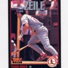 1993 Donruss Triple Play Baseball #024 Todd Zeile - St. Louis Cardinals