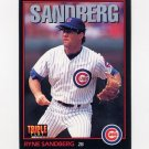 1993 Donruss Triple Play Baseball #010 Ryne Sandberg - Chicago Cubs
