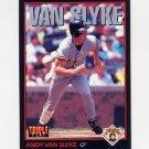 1993 Donruss Triple Play Baseball #008 Andy Van Slyke - Pittsburgh Pirates