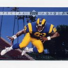 1995 Upper Deck Football Special Edition #SE63 Kevin Carter - St. Louis Rams