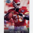 1995 Upper Deck Football Electric Silver #279 Kimble Anders - Kansas City Chiefs